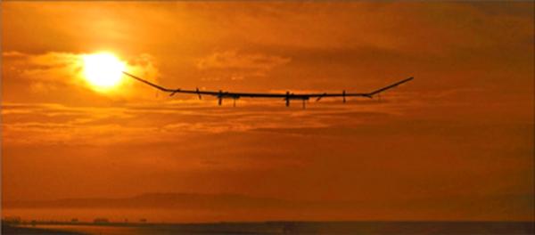 太阳能无人机2万米高空试飞